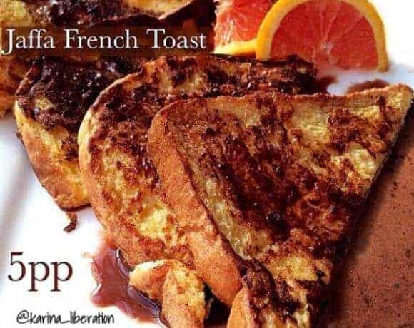 Jaffa French Toast