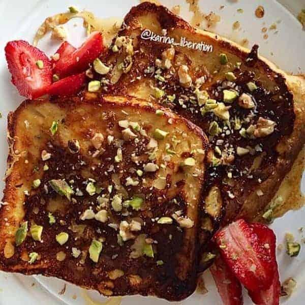 Baklava French Toast - Cafe Delites