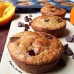 Healthy Jaffa (Chocolate Orange) Oat Muffins