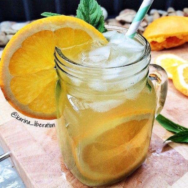 Orange Mint Green Tea