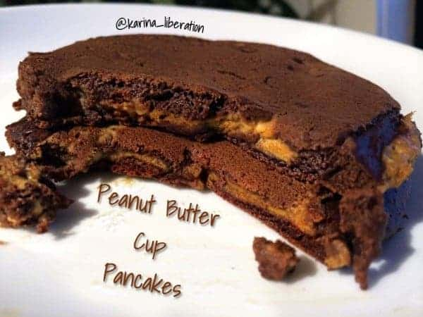 Peanut Butter Cup Pancakes