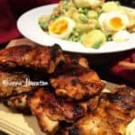 Nandos Peri Peri Chicken with Garlicky Potato & Egg Salad!