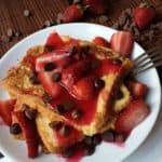 Strawberry Chocolate French Toast