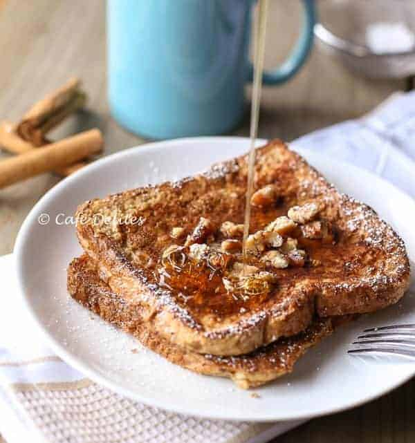 Gingerbread French Toast- Cafe Delites