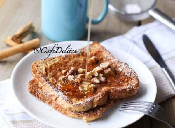 Gingerbread French Toasts - cafedelites