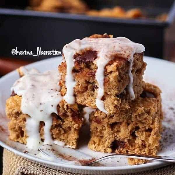 Fudgy Cappuccino Cake Bars - cafe delites