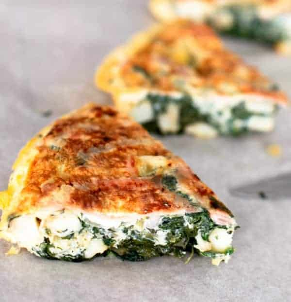 Bacon, Silverbeet and Potato Tortilla - Cafe Delites