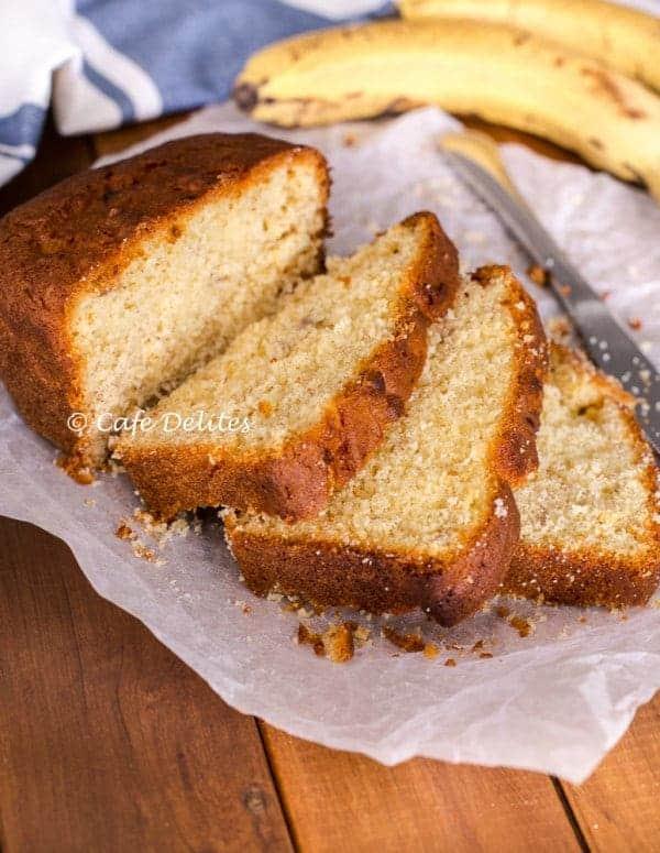 Banana Cake - Cafe Delites-2
