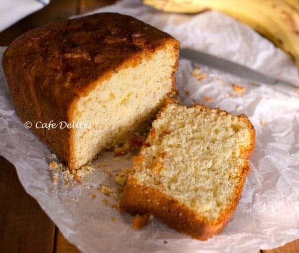 Banana Cake - Cafe Delites