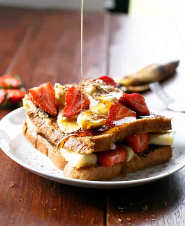 Banana Split French Toast - Cafe Delites-13