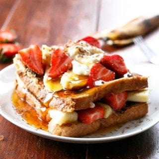 Banana Split French Toast - Cafe Delites