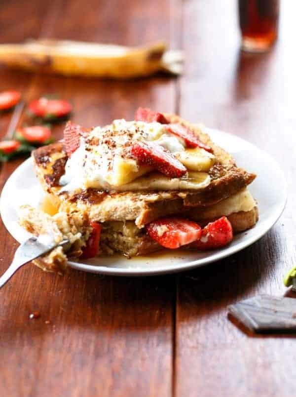 Banana Split French Toast - Cafe Delites-22