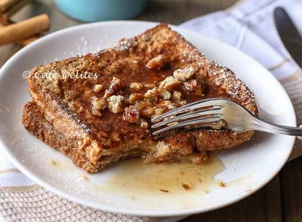 Gingerbread French Toast- Cafe Delites-8