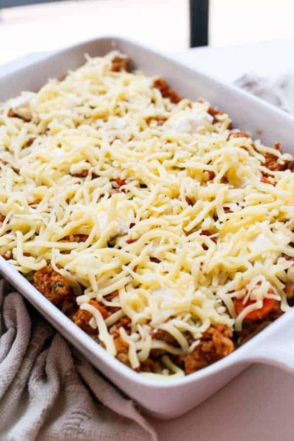 Chicken Pumpkin and Ricotta Lasagna - Cafe Delites