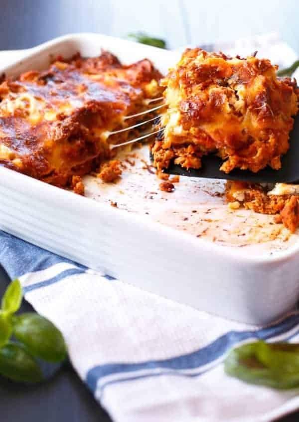 Chicken Pumpkin And Ricotta Lasagna Cafe Delites