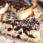 Crustless Bounty Bar Cheesecake