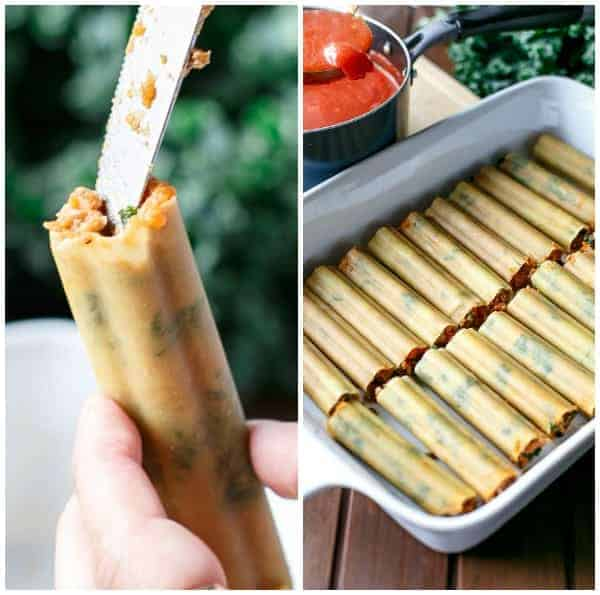 Turkey, Sweet Potato and Kale Cannelloni HOW-TO