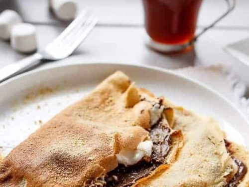 Nutella S Mores Crepes