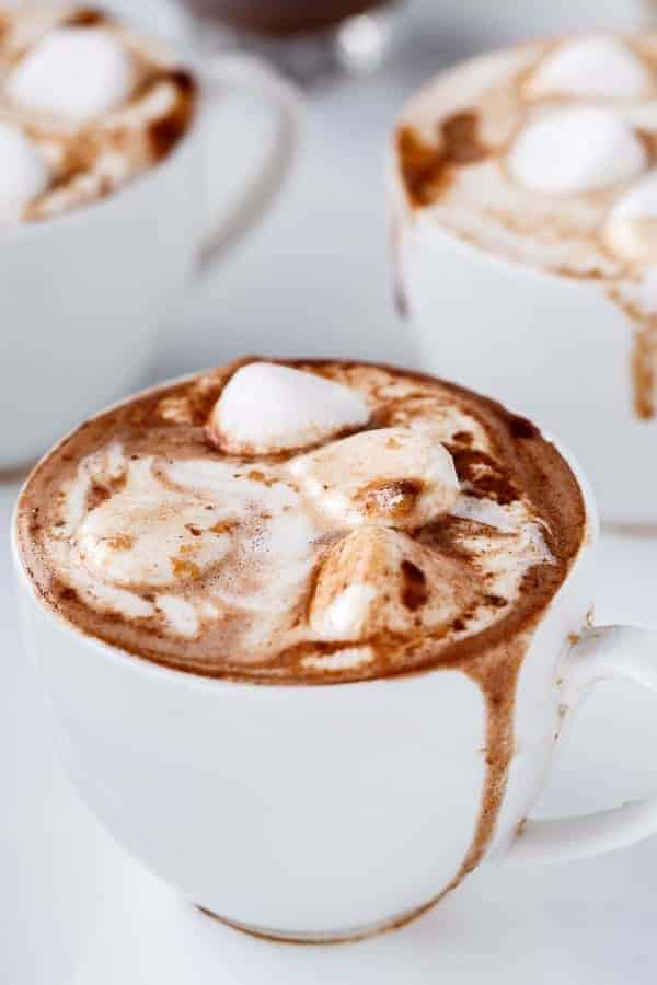 Peanut Butter Nutella Hot Chocolate - Cafe Delites http---cafedelites
