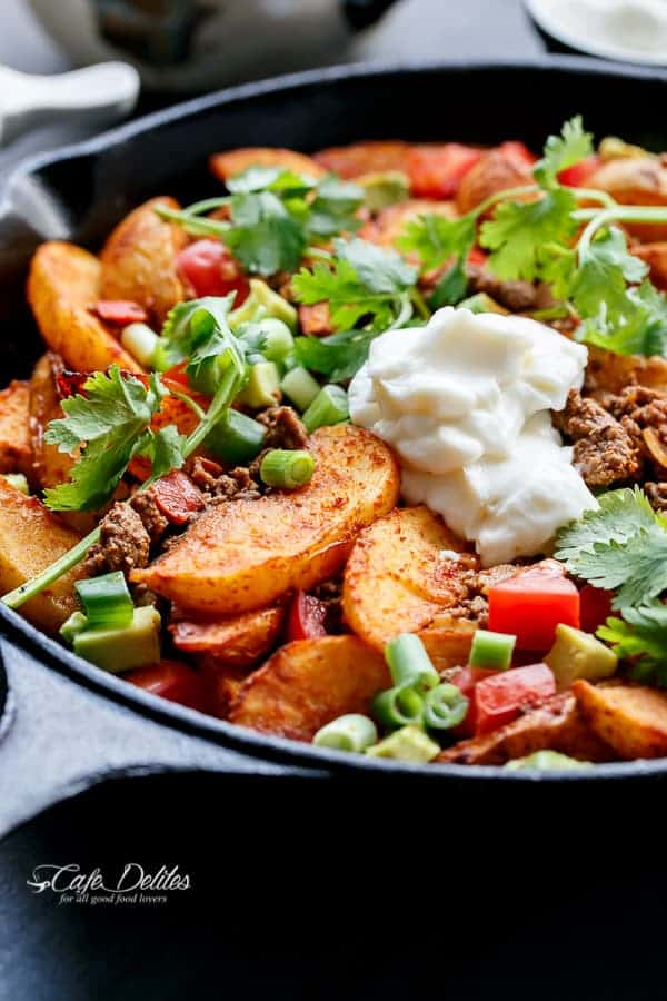 Smokey Mexican Beef Wedges | https://cafedelites.com