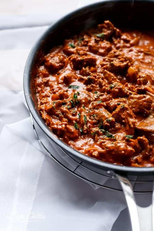 Spaghetti Bolognese | https://cafedelites.com