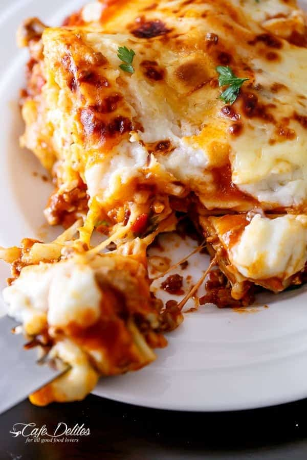 Beef And Pumpkin Lasagna-33