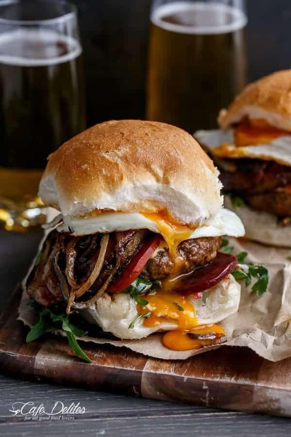 Druinken Aussie Beef Burgers-43