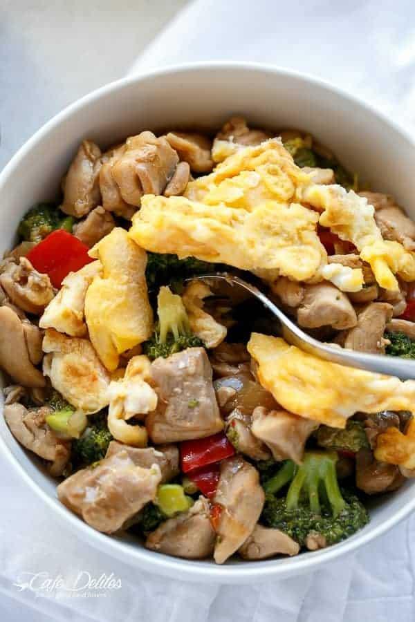 Hoisin Chicken and Broccoli-53