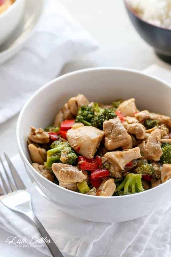 Simple Hoisin Chicken and Broccoli Stir-Fry