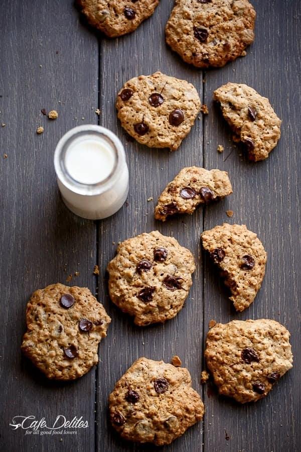 Flourless Peanut Butter Cookies-7