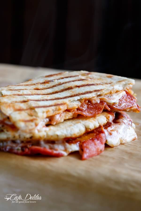 Pizza Panini | https://cafedelites.com