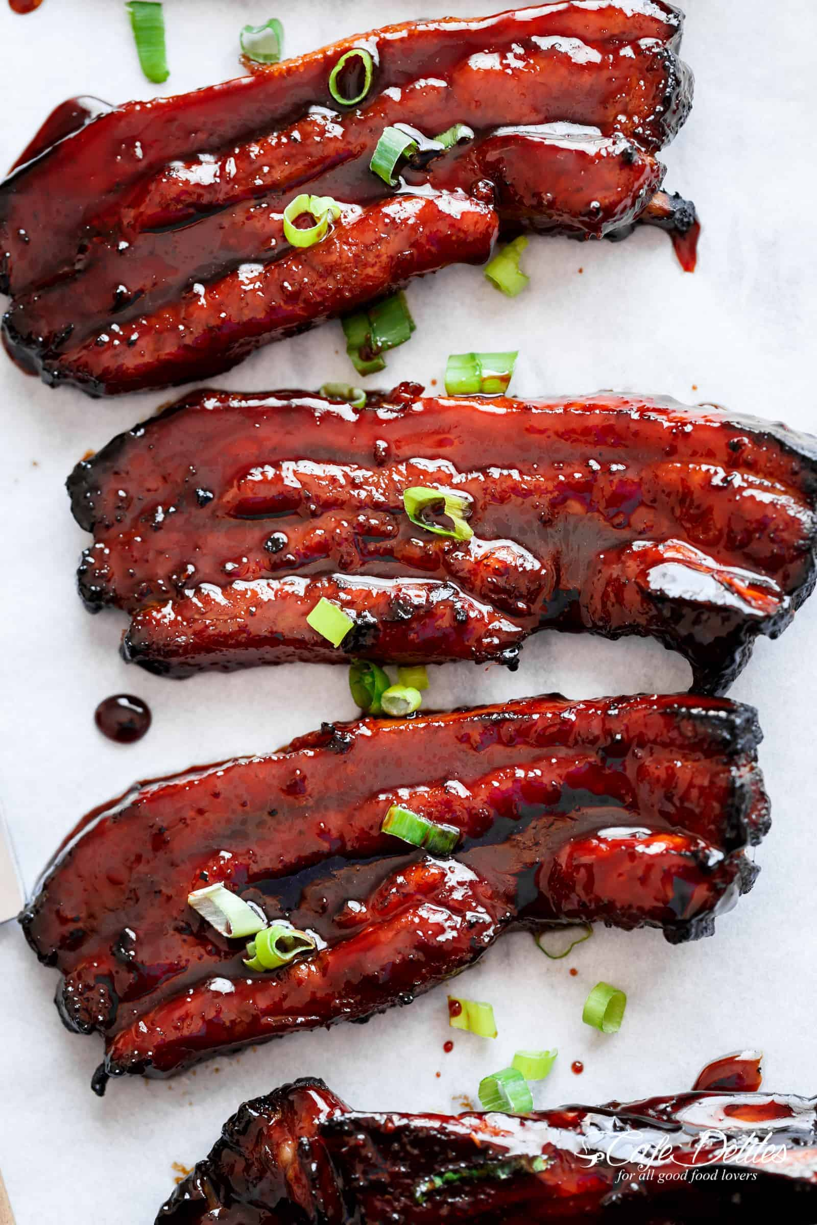 Sticky chinese barbecue pork belly char siu cafe delites sticky chinese barbecue pork belly char siu cafedelites forumfinder Image collections