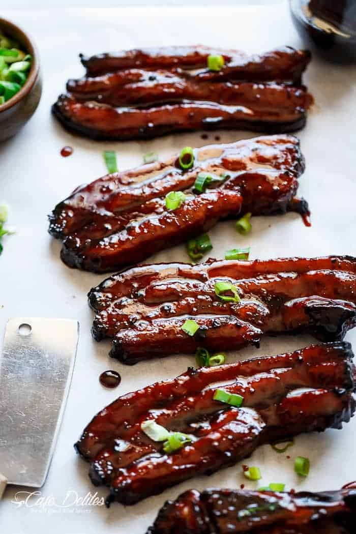 Sticky Chinese Barbecue Pork Belly (Char Siu)
