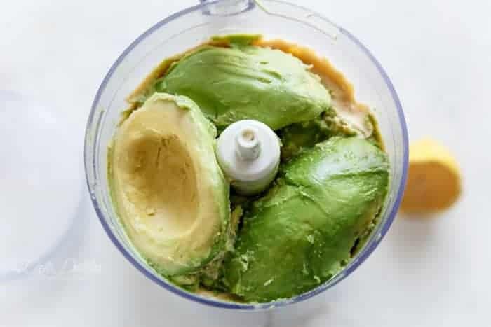 Avocado Hummus | https://cafedelites.com