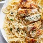 Creamy Lemon Parmesan Chicken (Piccata)