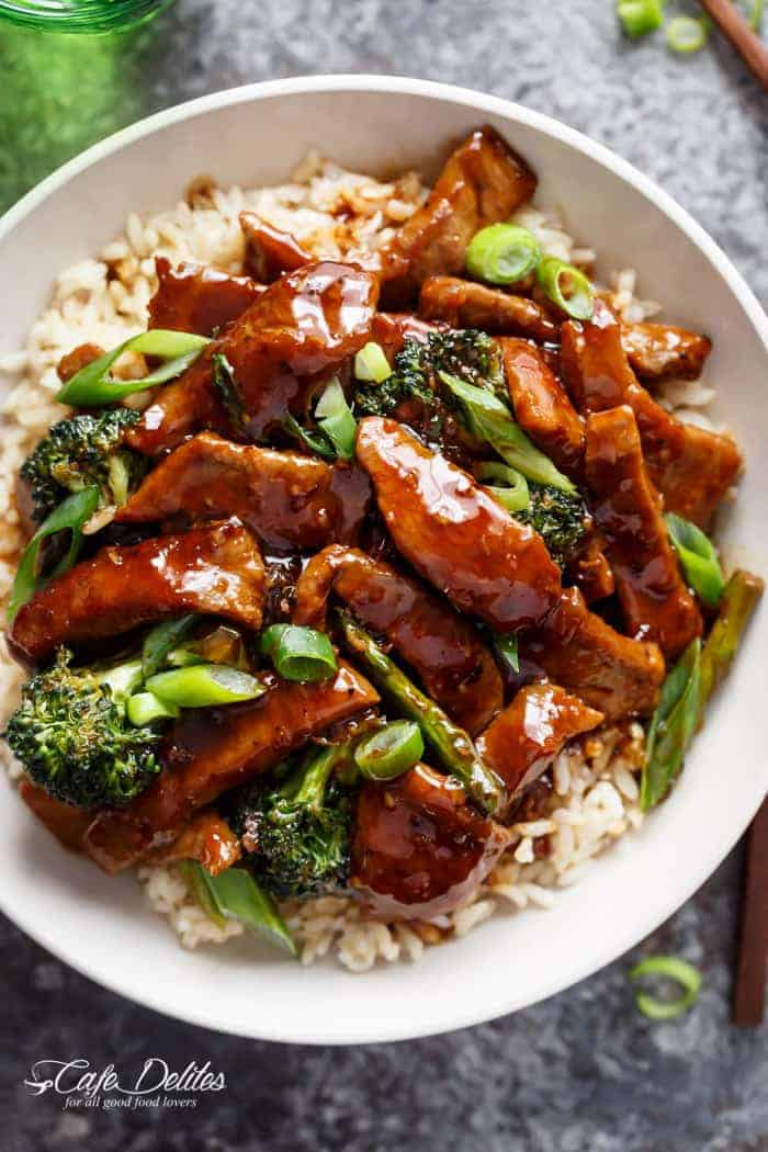 Mongolian Ground Beef And Broccoli Recipe