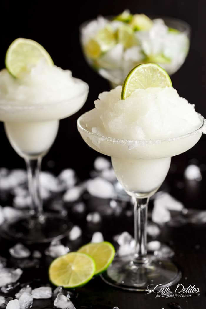 Frozen Margarita Slushy - Cafe Delites