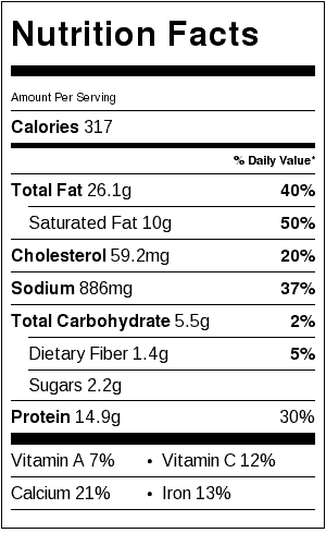 portobello-pizzas-nutrition-label
