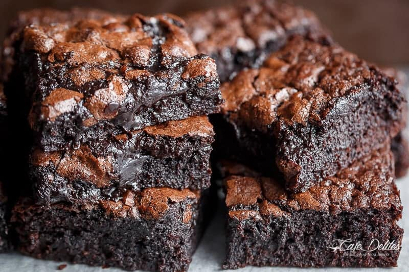 Best Brownie Recipe Homemade Unsweetened Cocoa
