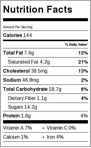 best-fudgy-cocoa-brownies-nutritional-label