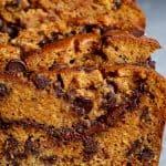 Nutella Pumpkin Chocolate Chip Bread