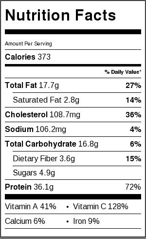 garlic-herb-chicken-sweet-potato-sheet-pan-meal-prep-nutritional-label