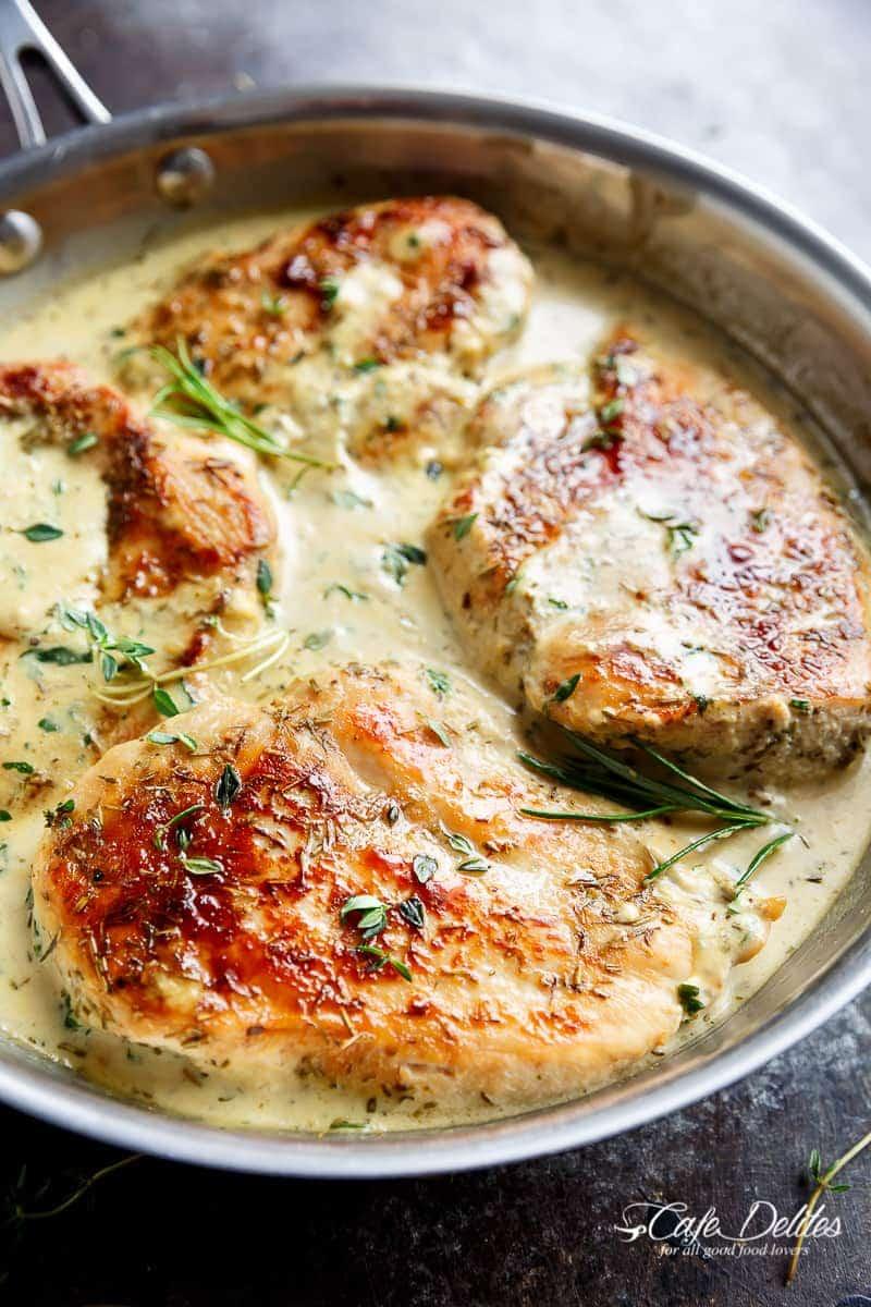 Breast recipe cream of chicken