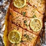 Lemon Butter Garlic Salmon