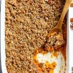 Last Minute Sweet Potato Casserole (Lightened Up)