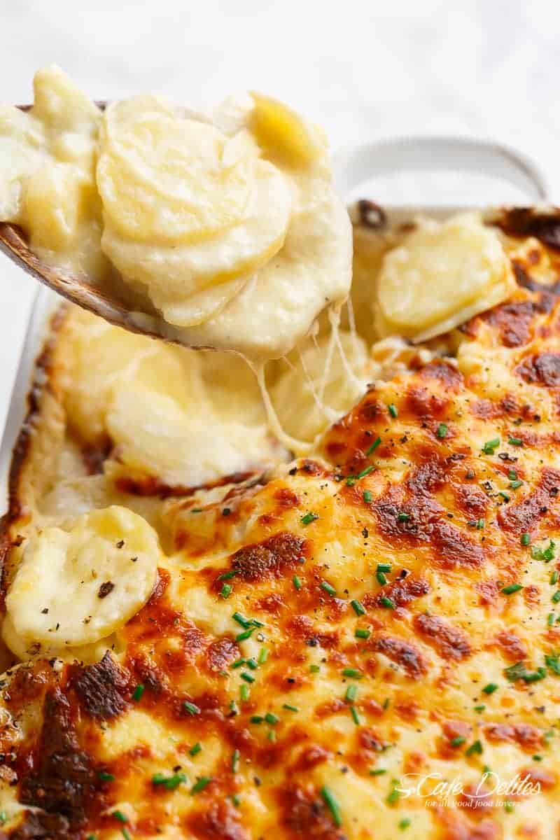 There Are Scalloped Potatoes And Then There Are Scalloped Potatoes The Kind That Are So Addictive You Can Eat Maybe Half The Pan In One Sitting