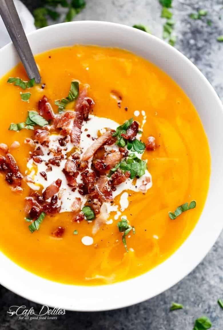 Thick & Creamy Pumpkin Soup