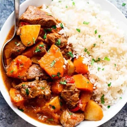 Slow Cooker Beef Stew Cafe Delites
