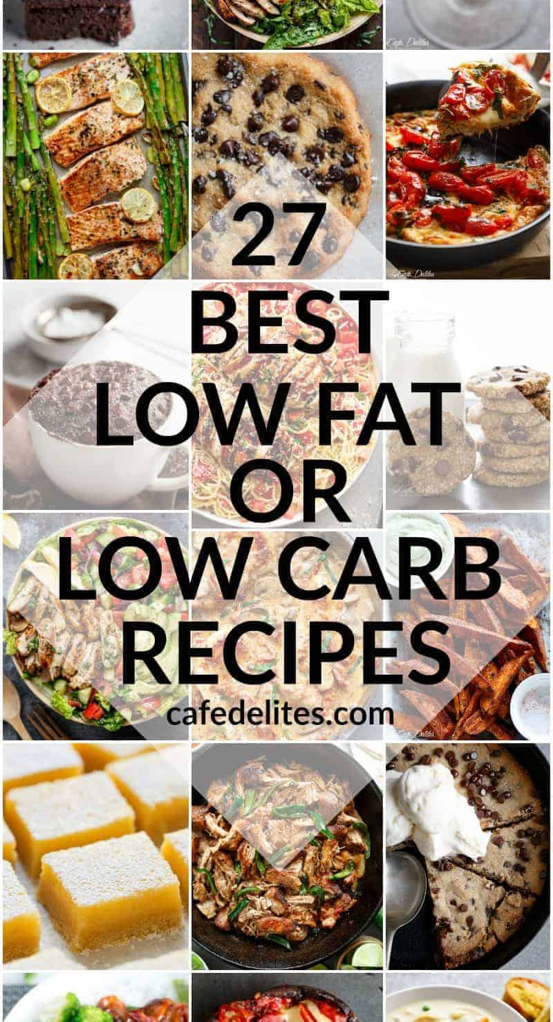 27 BEST LOW FAT & LOW CARB RECIPES FOR 2017
