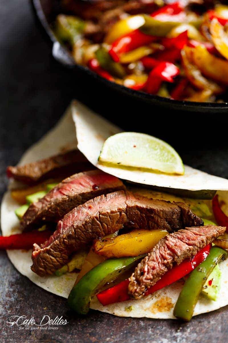 lime steak fajita marinade